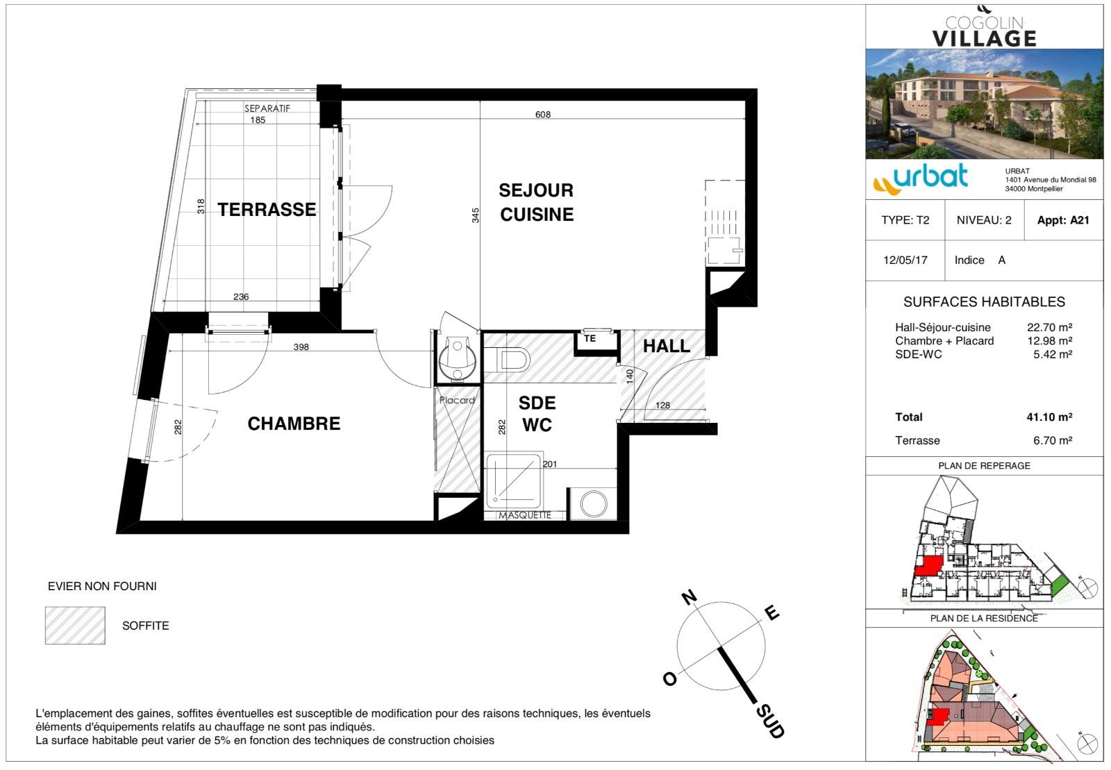 offres programmes neufs t2 neuf cogolin. Black Bedroom Furniture Sets. Home Design Ideas
